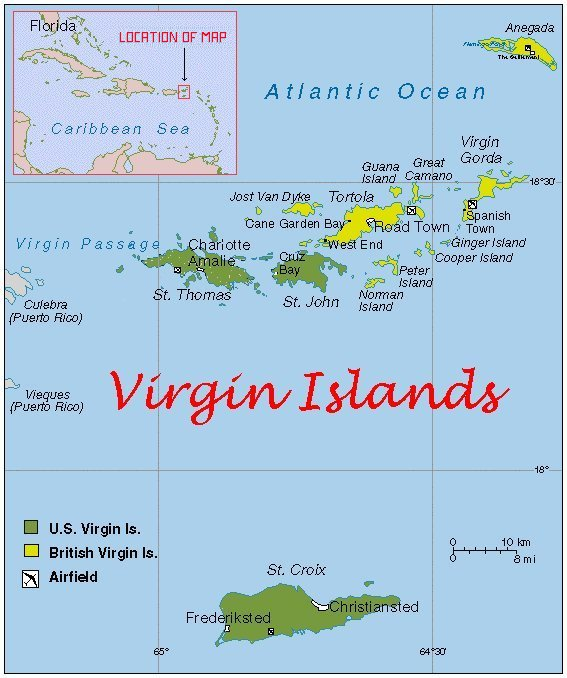 john bergen usvi st map county